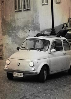 old fiat 500 in Sibiu