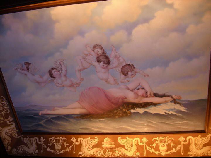 95 Gambar Lukisan Awan Mendung Terlihat Keren