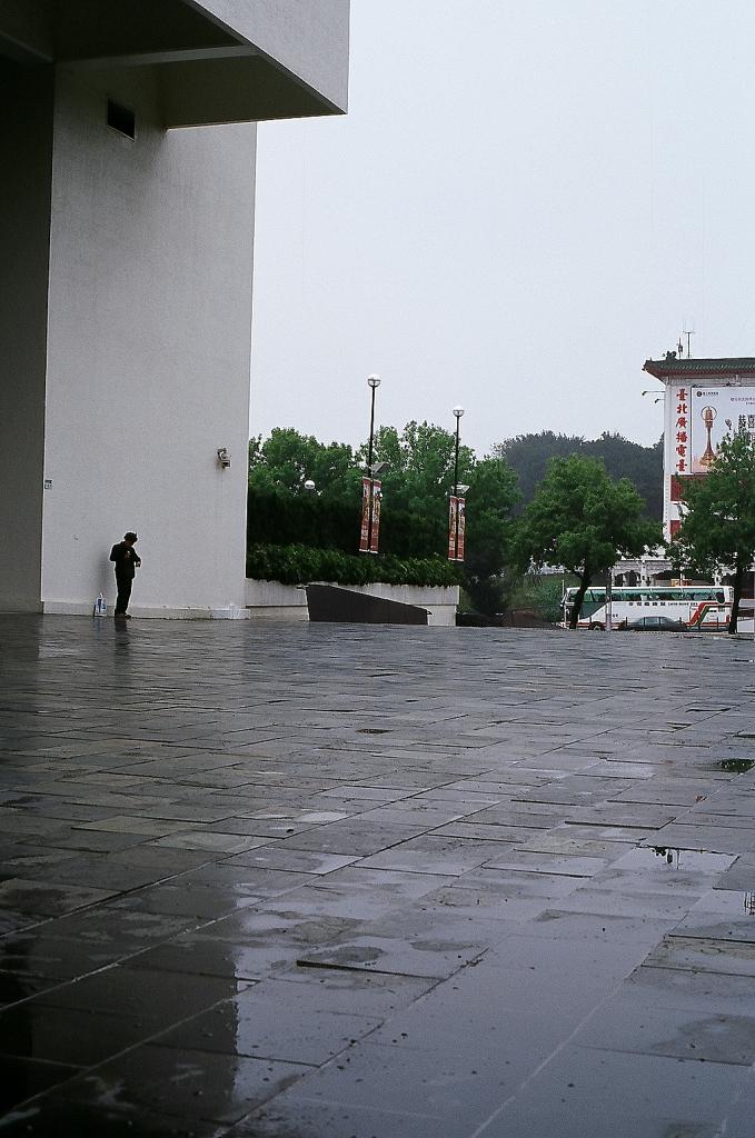 陰雨綿綿~美術館~