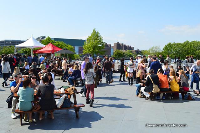 2012 Frieze New York City Art Fair Beergarden 02
