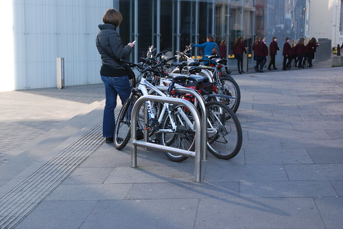 Usher Hall bike racks