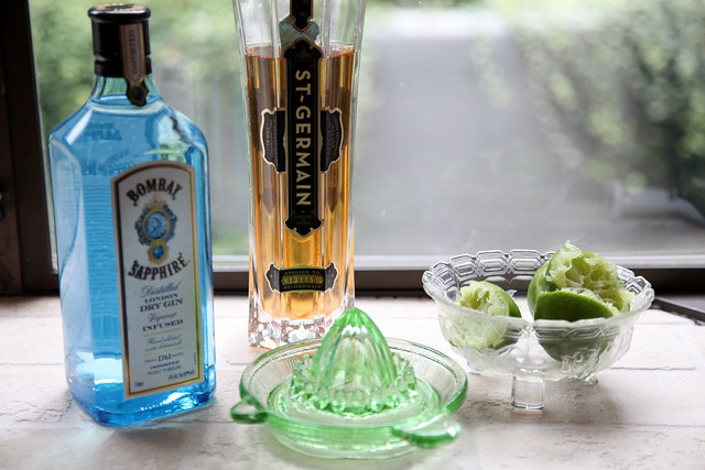 Gin + St. Germain + Lime Juice
