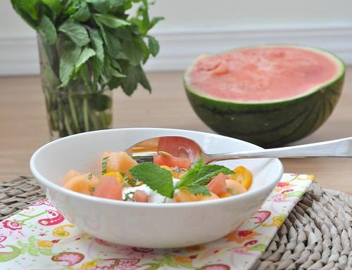 Melonensalat