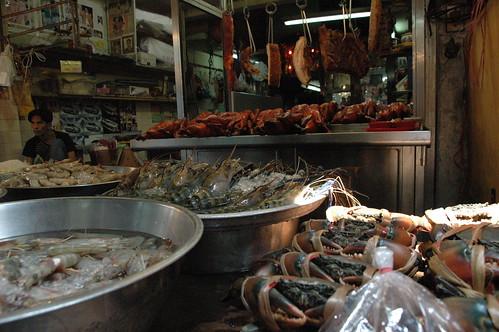 魚貝も豊富