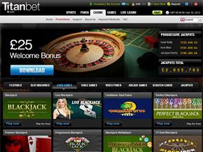 Titan Bet Casino Home