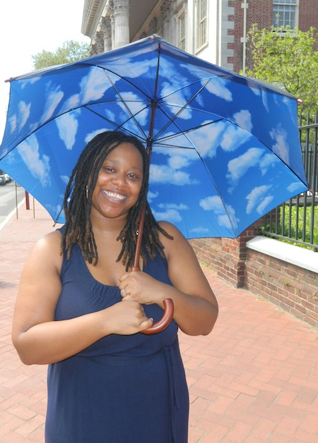 MoMa Celebrates Sky Umbrella w/ AphroChic