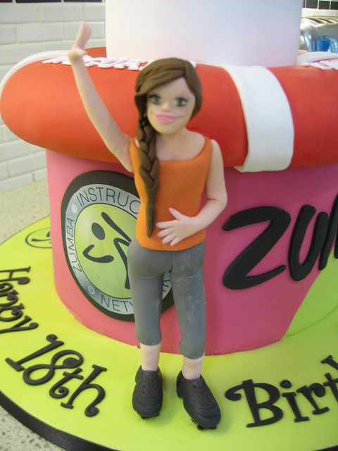 Zumba Birthday Cake http://www.flickr.com/photos/staceyscakes/7090203377/