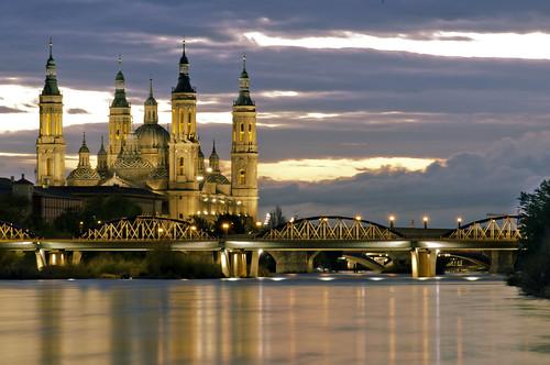 Nocturnas del Pilar y el Rio Ebro