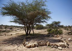 Laas Geel  Mosque Made With Stones - Somaliland
