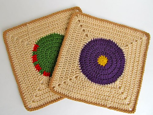 Tantra Song Inspired Crochet Blocks