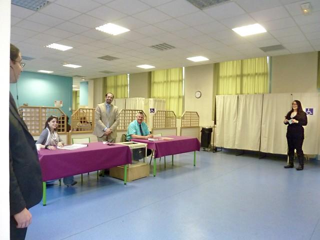 Salle des élections