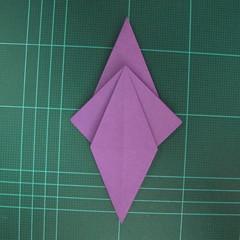 การพับกระดาษเป็นฐานนกอินทรี (Origami Eagle) 026