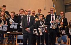 Åsenhöga Brass Band på Centrumkåren i Göteborg 29 mars 2014