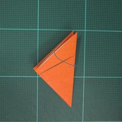 วิธีพับกระดาษเป็นสุนัขจิ้งจิกแบบง่าย (Simple Origami Fox) 004