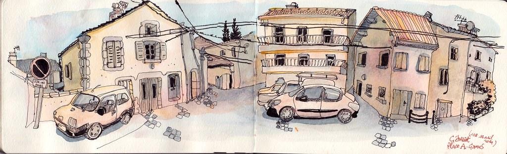 Place A.Camus