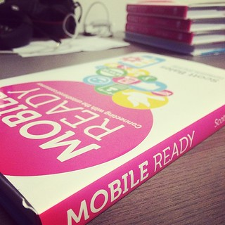 #mobileready finally in my hands @Publishizer