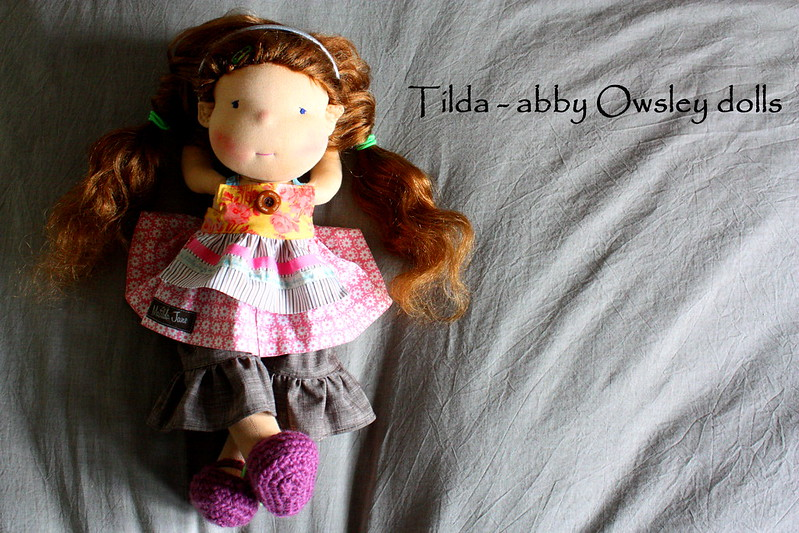 "Tilda the MJ girl- an 18"" Waldorf Inspired doll"