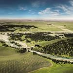 Springbank Road off-stream storage (artist rendering)