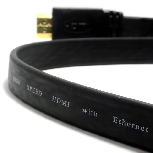 Câble HDMI-Ethernet plat 3 mètres