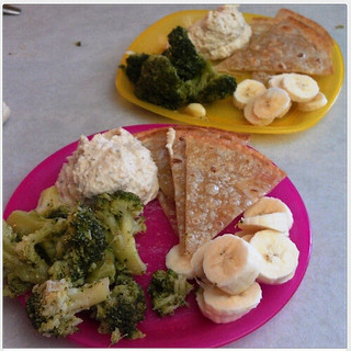 a simple real food series :: #ToddlerLunch #PreschoolLunch inspiration!