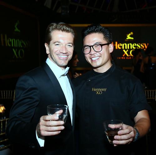 L-R Mathieu Duchemin & Chef Viet Pham