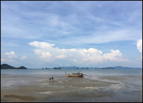 Low tide at Koh Yao Yai