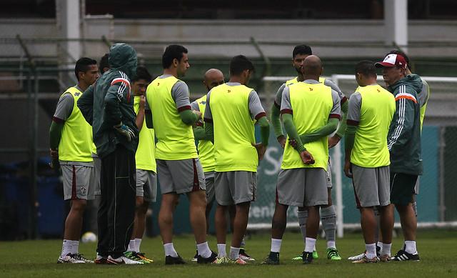 Fluminense: Com novidade, Levir comanda treino tático de olho no Palmeiras