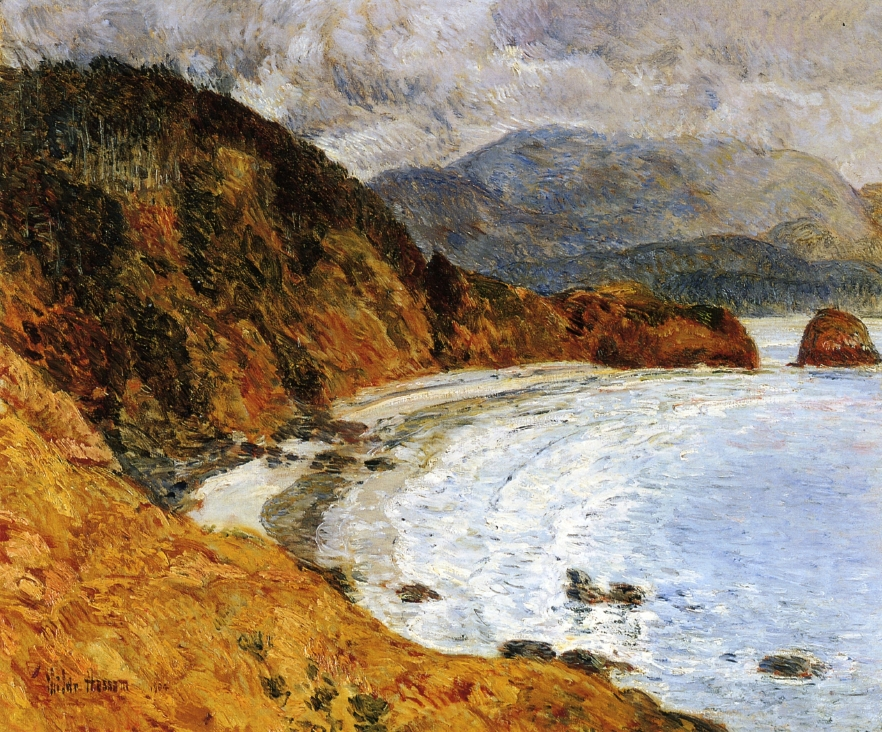 Ecola Beach, Oregon by Frederick Childe Hassam - 1904