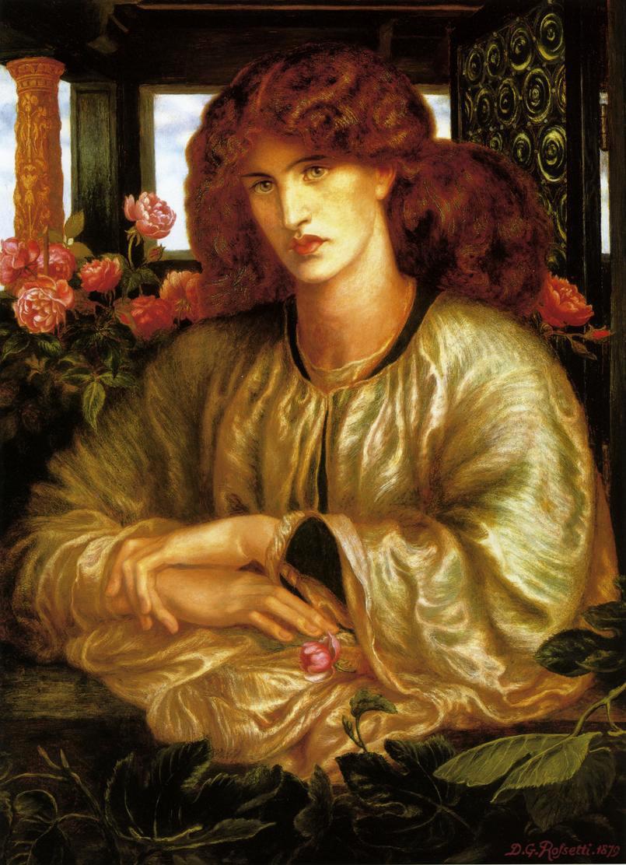 La Donna Della Finestra by Dante Gabriel Rossetti - 1879