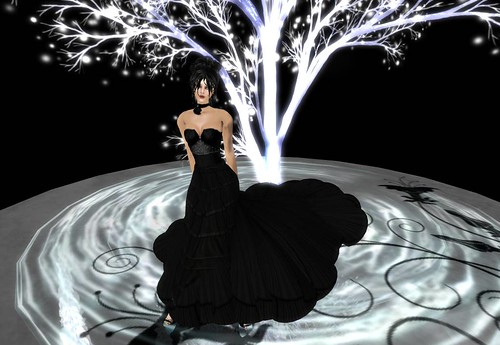 Yasum Nightflush (long skirt) by Cherokeeh Asteria