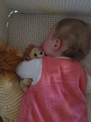 Esther and roary the lion