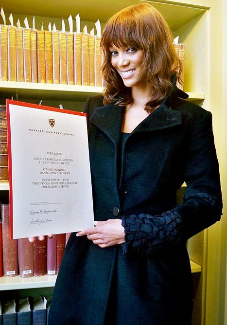 Tyra Banks Harvard Graduate (9)