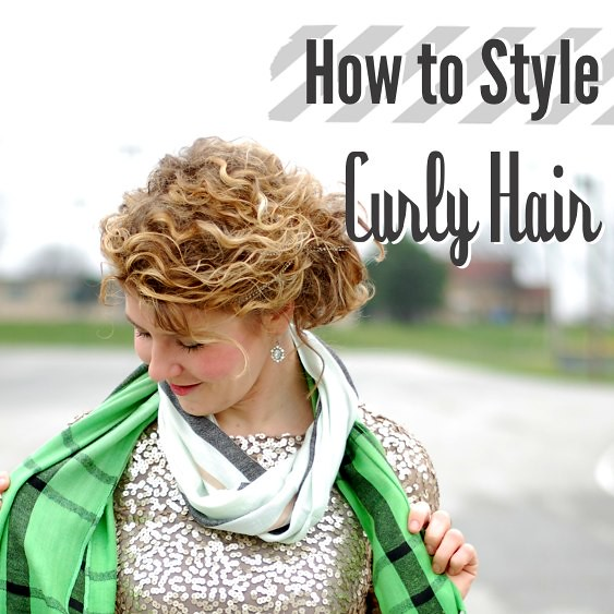 How to Style Curly Hair  Stars for Streetlights