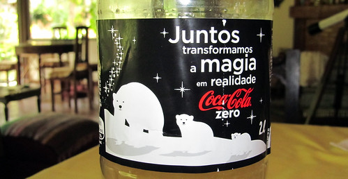 2011 Polar Bears Christmas Coca-Cola Zero 2 liter Brazil by roitberg