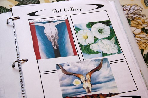 okeeffe notebooking  gallery