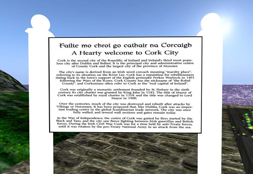 Cork - Welcome and history by Cherokeeh Asteria