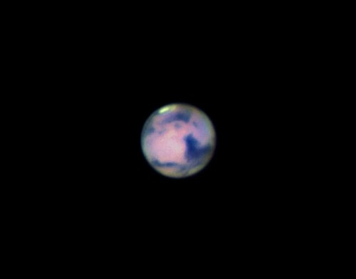 Colourful Mars on 26 February 2012