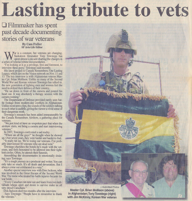 Lasting tributes to vets