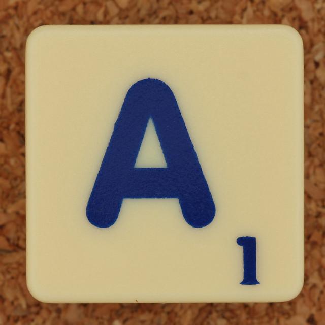 Scrabble Trickster Letter A