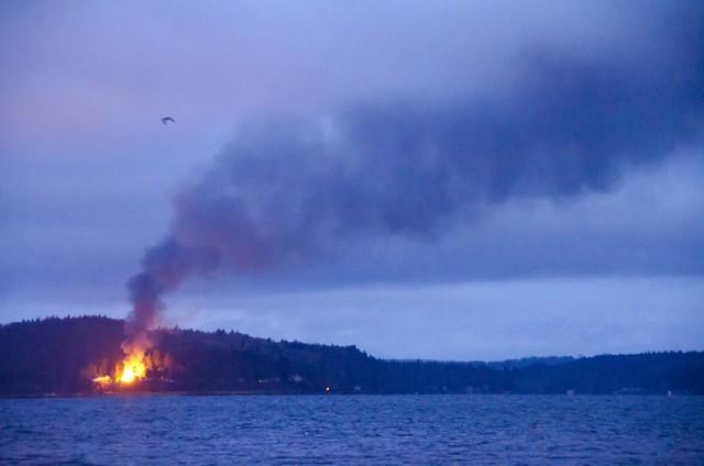 Big Island House Fire