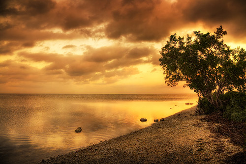 sunset sky seascape water colorful florida miami hdr blackpointmarina mygearandme mygearandmepremium