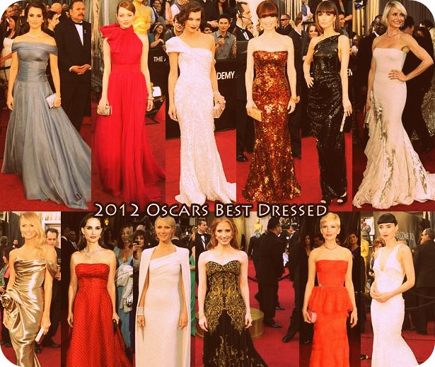 Academy Awards 2012 Best Dressed