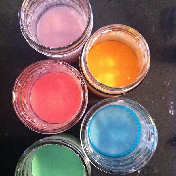 Homemade Chalk Paint In Sprayer