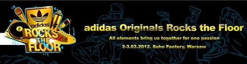 adidas rocks the floor Poland