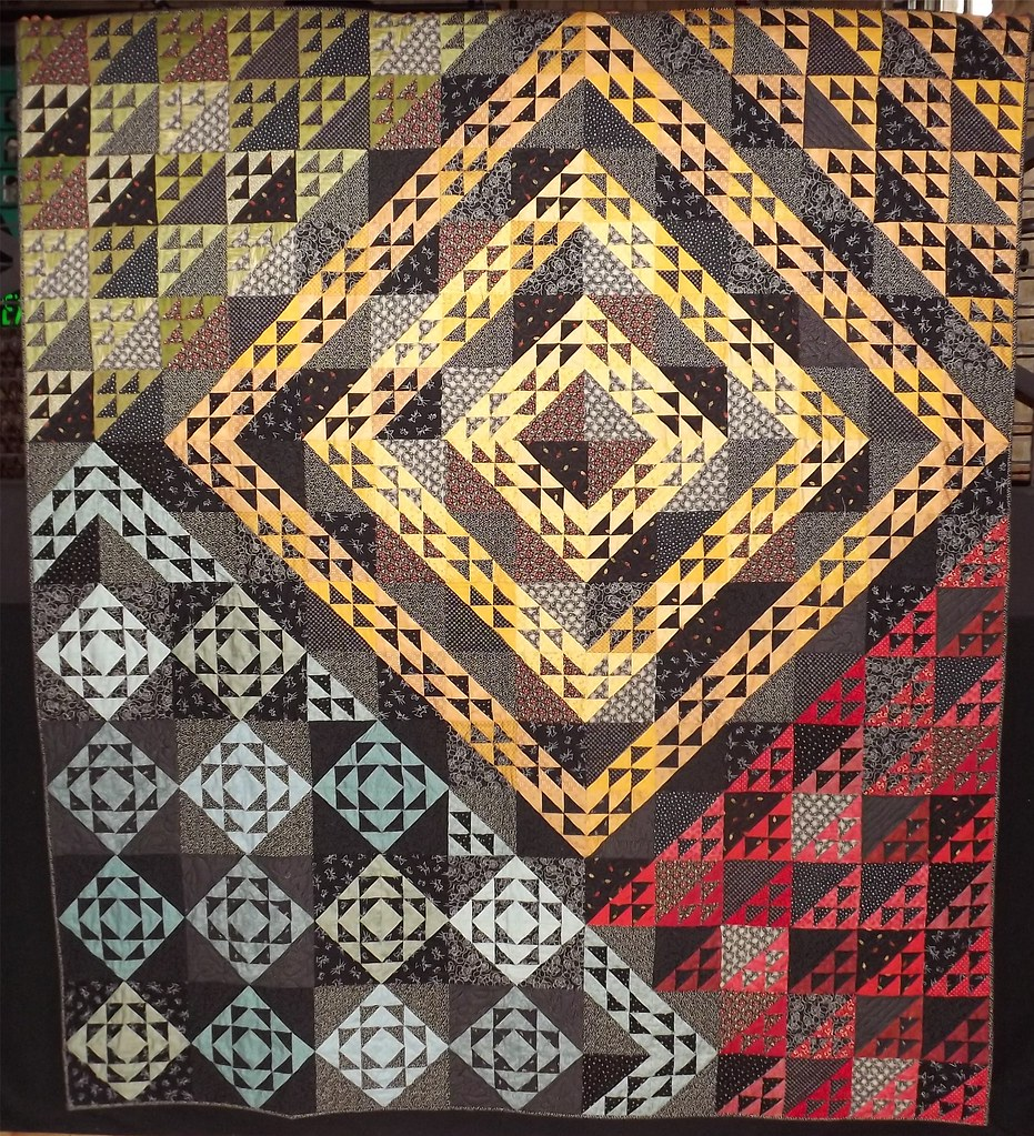 Liftoff Quilt by Sandi Walton at Piecemeal Quilts