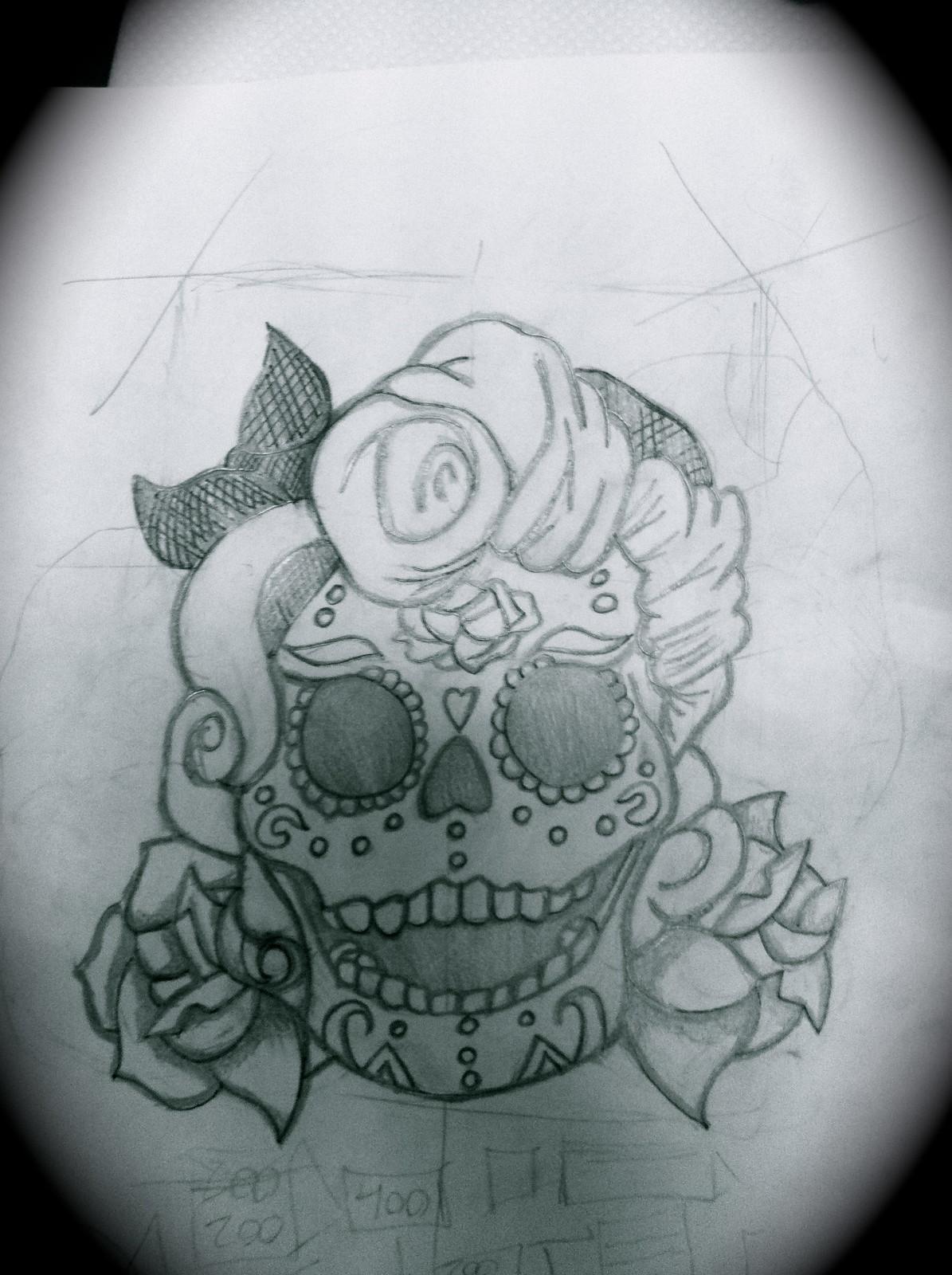 Dibujos a Lapiz De Calaveras
