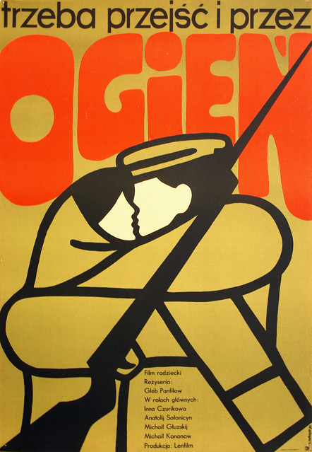 Trzeba przejsc przez ogien (1967)_Poster (1970)