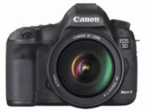 Canon 5D Mark III (imagen promocional)