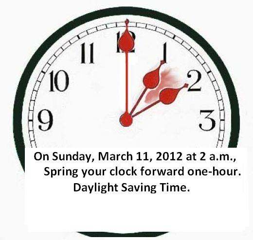 Daylight savings 2012 flickr photo sharing for When was daylight savings time started