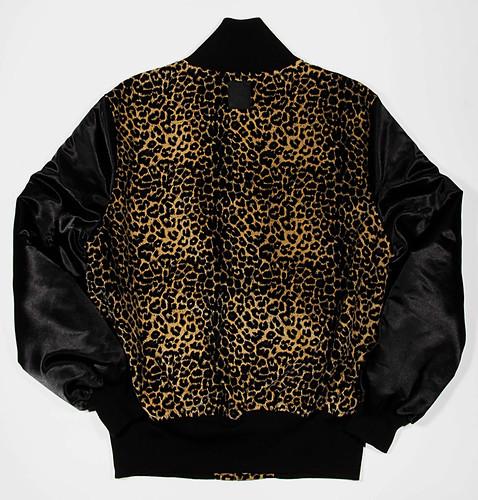 B-side Varsity Jacket back
